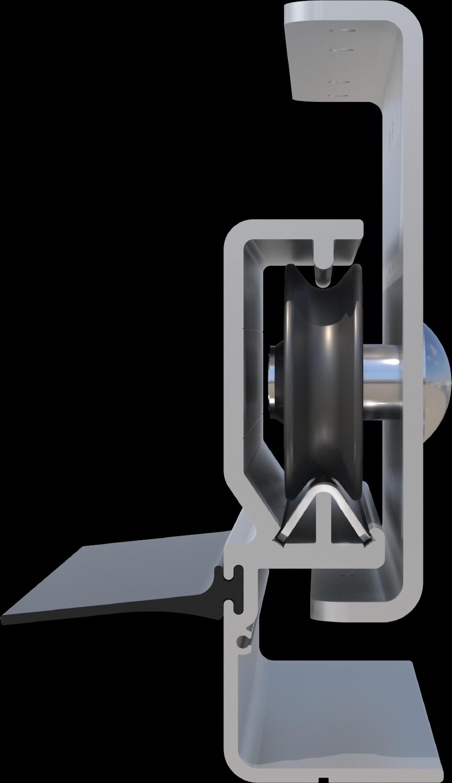 Aero Conestoga Wheel and Track System