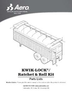 Kwik-Lock / Ratchet + Roll Kit Parts List