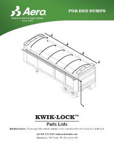 Kwik-Lock Parts List