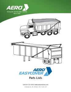 Easy Cover Parts List