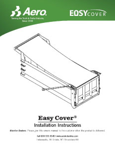 Easy Cover Installation Instructions