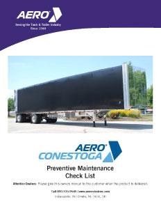 Conestoga Preventive Maintenance Check List