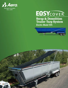 Easy Cover Electric Model 595 Brochure