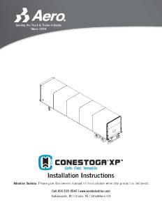 CXP Installation Instructions