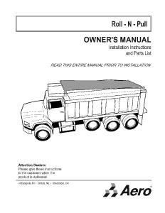 Roll-N-Pull Owner's Manual