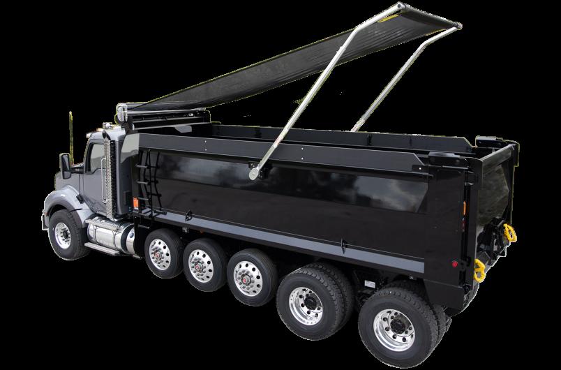 Easy Cover Dump Truck tarp System