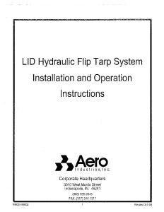 Lid2 Installation + Operation Instructions