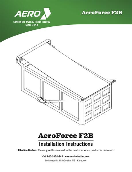 AeroForce F2B Installation Manual