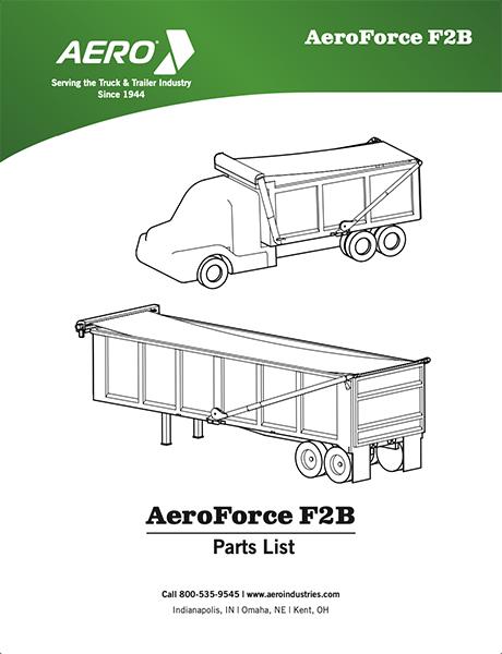 AeroForce F2B Parts List