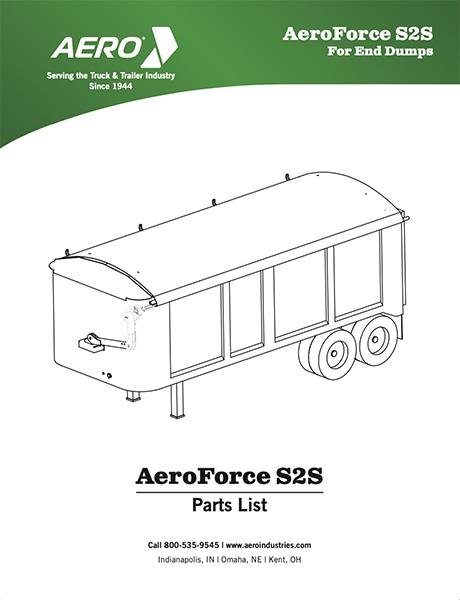 AeroFroce S2S Dump Parts List