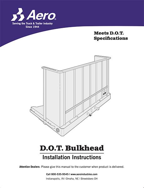 D.O.T Bulkhead Install Manual