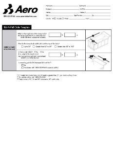 Roll-N-Pull Order Form