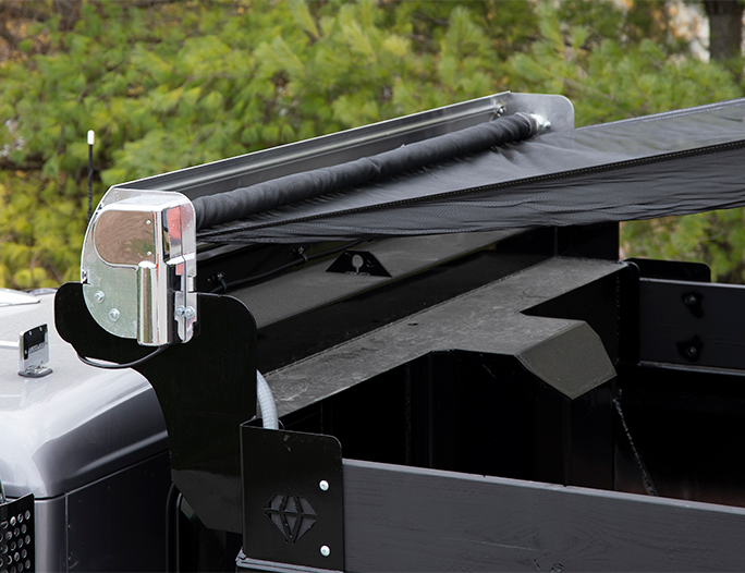 Aero EasyCover Front Assembly