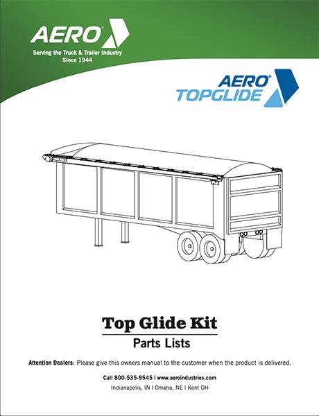 TopGlide Parts List