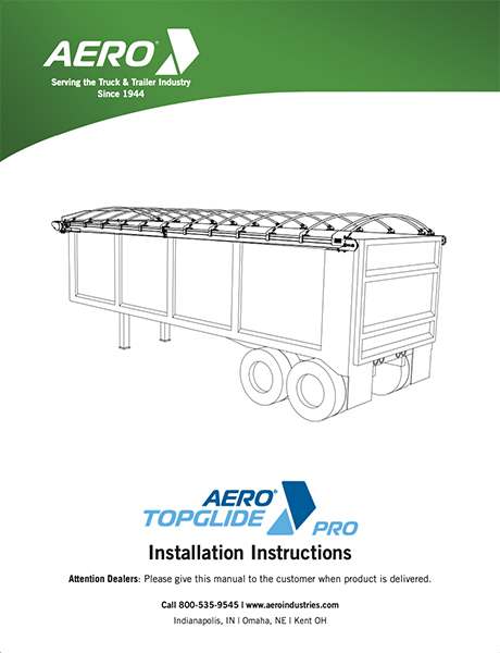 TopGlide Pro Install Instructions