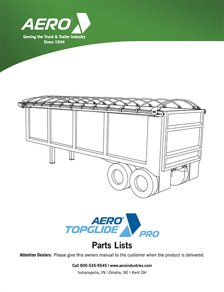 TopGlide Pro Parts List